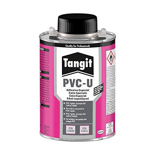 Tangit 420286 Aufkleber auf PVC-Basis, transparent