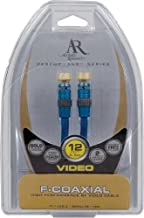 Acoustic Research AP012N Video F to F Coaxial Cable (12 feet) (Discontinued by Manufacturer)