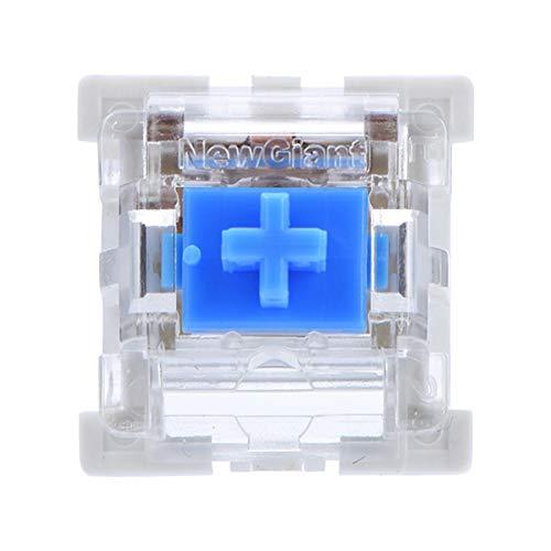 Interruptor De Teclado Mecánico, Computadora De Interruptor Azul De Repuesto Mecánico Brillante para Teclado Mecánico