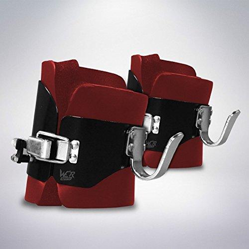We R Sports gravità Inversione Stivali Pesante Dovere ABS Indietro Stomaco Nucleo Ginnico Palestra Fitness (Red)
