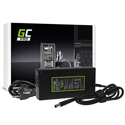 GC Pro Cargador para Portátil DELL Precision 7510 7710 M4700 M4800 M6600 M6700 M6800 Alienware 17 M17x Ordenador Adaptador de Corriente (19.5V 12.3A 240W)