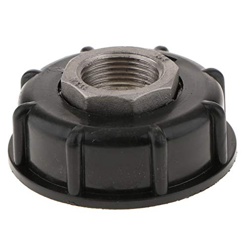 Almencla 1000L IBC Tank Adapter 60mm Coarse Thread to 3/4inch Water Tank Connector Fitting Heavy Duty