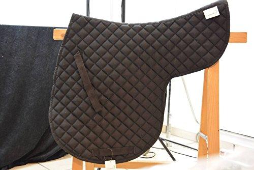Campale Satteldecke Baumwollstepp schwarz Sattel Decke 6009 Pferdedecke Reitsport Pferdesport