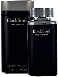 Black Soul By Ted Lapidus For Men - Eau De Toilette, 100Ml