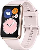 """HUAWEI Watch Fit Smartwatch, Sakura Pink, 1.64"""""""