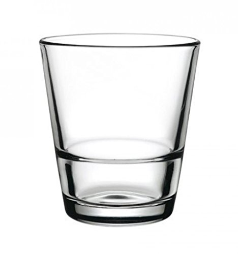 Pasabahce 52060 Grande S - Vasos de Whiskey (apilables, 310 ml, 12...