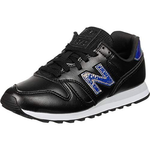 New Balance 373v2, Zapatillas Mujer, Negro (Black/White Gb2), 36.5 EU