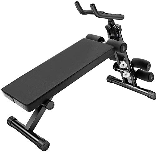 GANE Adjustable Weight Benches Sit Up, 2-in-1 Home Multi-Function Abdominal Board, Household Light Sit-up Board, Multi-Functional Fitness Equipment(Abdominal Device + Supine Board)