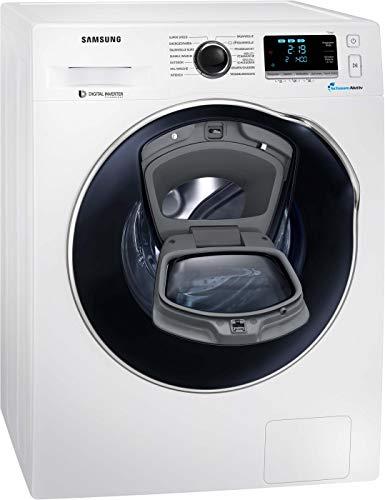 Samsung WW6500 WW9GK6404OW/EG AddWash-Waschmaschine 9 kg/ 1400 U/min/ A+++/ WiFi Steuerung – SmartControl mit Q-Rator/ SchaumAktiv-Technologie