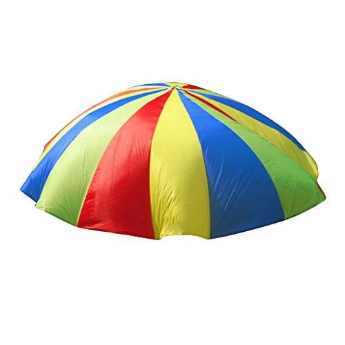 lahomia Trabajo en Equipo Guía de Actividad Física Iris Paracaídas Actividades Grupales Al Aire Libre - 4 米