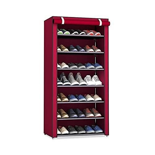 Scarpiera da Ingresso Mobile da scarpe semplice multistrato FAI DA TE Assemblato Spazio salvaspazio Shoe Organizer Shelf Home Dormitore di stoccaggio Armadio Scarpe antipolvere Porta Scarpe