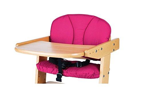 Pinolino - Sitzverkleinerer für Treppenstühle, Stoff, pink