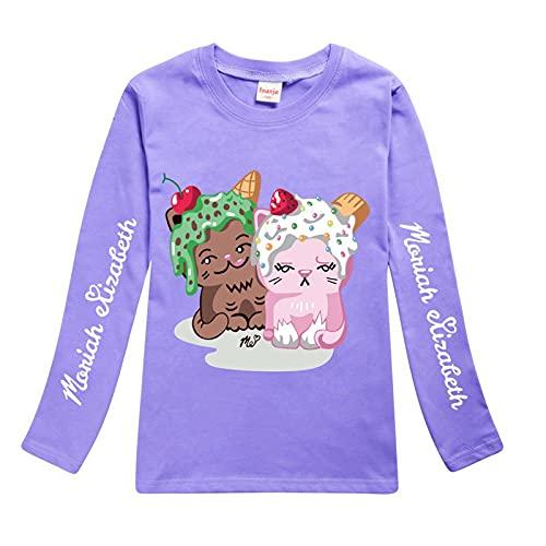 JFLY Moriah Elizabeth Merch Eustace Shelly Boys Girls - Camiseta para Niños Y Jóvenes Camiseta con Capucha Sudadera con Capucha Ropa De Otoño De Manga Larga para Niños