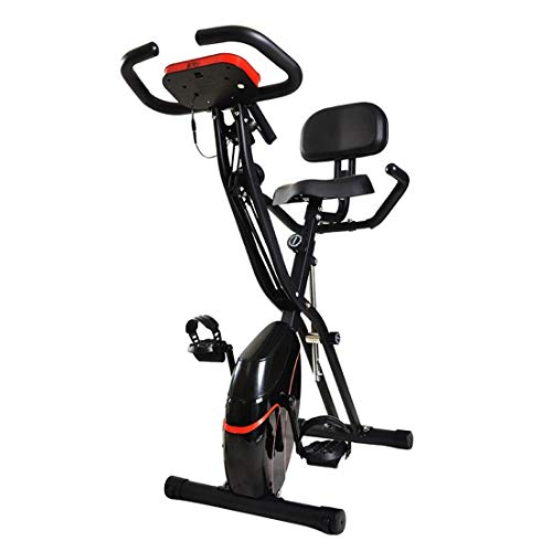 SXXYTCWL 38492 X-Forma Interna di Controllo Magnetico Spinning Bike Fitness Bicicletta con Display LCD Schienale (Colore: Nero) jianyou (Color : Black)