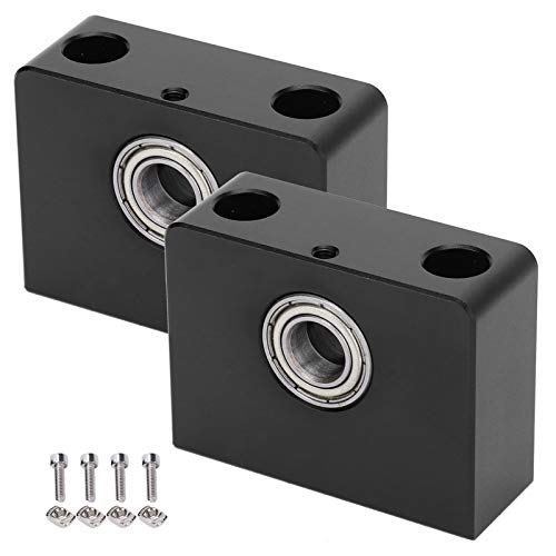 Jeanoko Aluminum Block Replacement 2 Sets 3D Printer Z‑Axis Bracket 3D Printer Upgrade Replacement for CR10 S for CR10