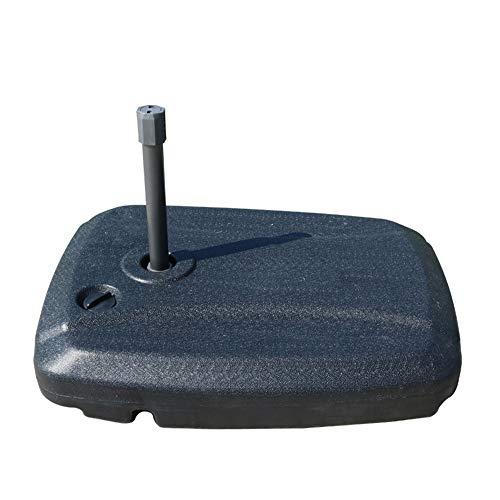 Base de parasol ronde en résine robuste,Porte-parapluie de protection solaire portable résistant à l'usure,Utilisé pour le diamètre 30-50mm stand parapluie,Convient pour boisson fraîche boutique caf