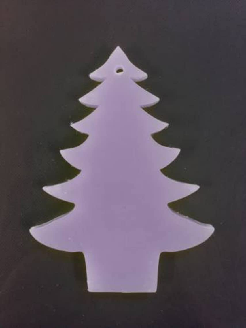 疫病忌まわしい歩き回るGRASSE TOKYO AROMATICWAXチャーム「ツリー」(PU) ラベンダー アロマティックワックス グラーストウキョウ