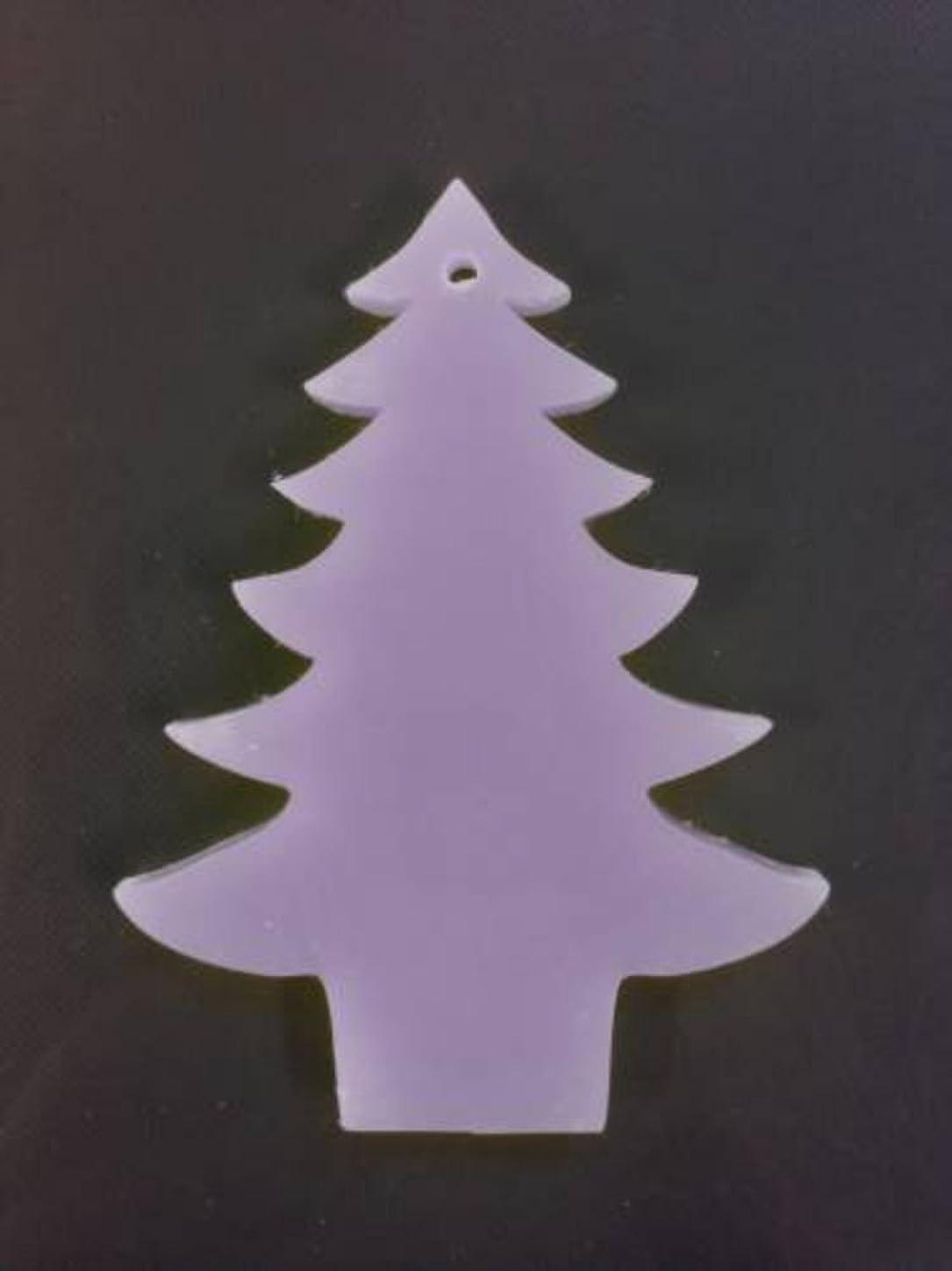 シソーラス満足野ウサギGRASSE TOKYO AROMATICWAXチャーム「ツリー」(PU) ラベンダー アロマティックワックス グラーストウキョウ