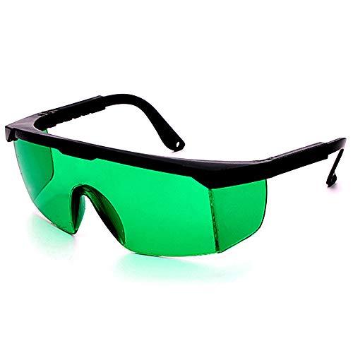Gafas de protección láser IPL, gafas para equipo de belleza, verde