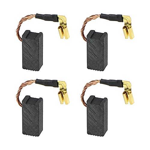 eMagTech - 2 pares de escobillas de carbón para motor de repuesto compatibles con DeWalt DWE4120/DWE4120N/DWE4011/N097696