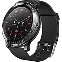 ZEEKER W1 Fitness Tracker Smart Watch for Android/iOS with Sleep Heart Rate Monitor and Blood Oxygen