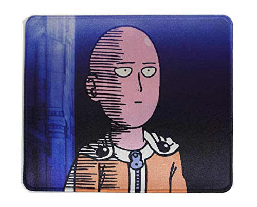 One Punch Man Mouse Pad Saitama 12x10 Inches Office Gaming Funny Anime Cartoon Mousepad