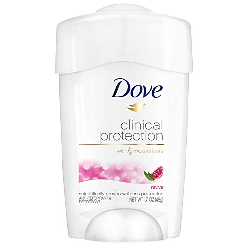 Dove Clinical Protection Anti-Perspirant Deodorant Solid, Revive - 1.7 oz - 2 pk