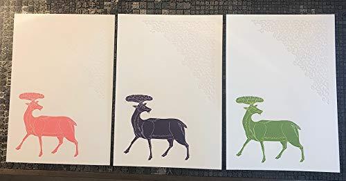 活版印刷はがきセット 正倉院展2019 7枚