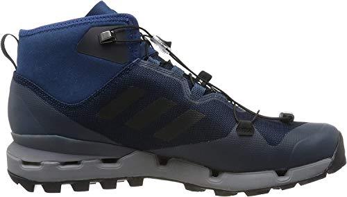 adidas Herren Terrex Fast Mid GTX-Surround Trekking- & Wanderhalbschuhe, Mehrfarbig (Azul Azunoc Negbas Gritre), 42 EU