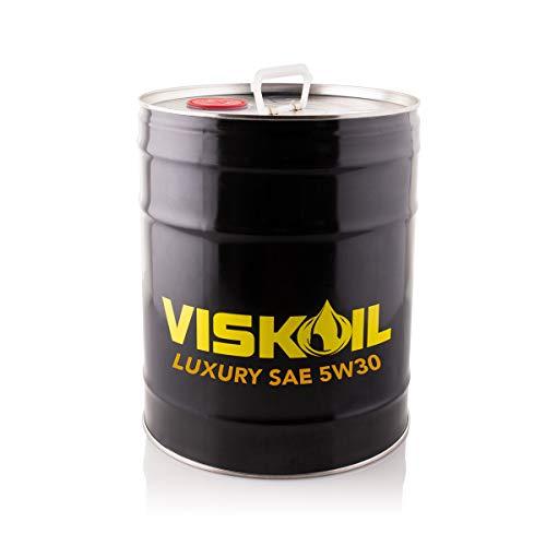 20 Litri Olio Motore Sintetico 5W30 Viskoil per Motori Benzina Diesel ACEA C2/C3