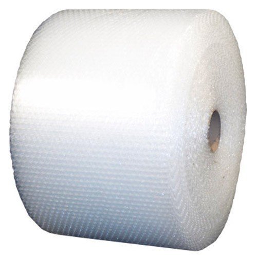 ValueMailers Medium Bubble Polyethylene Perforated Single Air Bubble Roll, VM51640024, 400' Length x 24