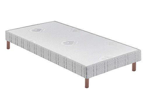 BULTEX - Sommier 90 x 200 Confort ferme 90x200cm AB10986