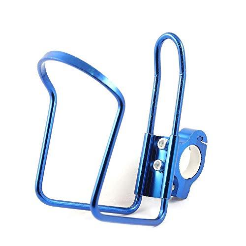 Portabottiglie in alluminio per bicicletta, portabottiglie e portabottiglie, leggero, per motocicletta, bici, blu, di qualità adorabile e pratico