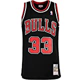 Mitchell & Ness Swingman Scottie Pippen Chicago Bulls 97/98 - Camiseta (talla XL), color negro