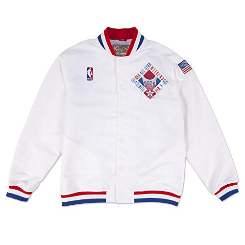 Mitchell & Ness M&N Authentic All Star East 1991-92 Warm Up Jacket Blanco - XL