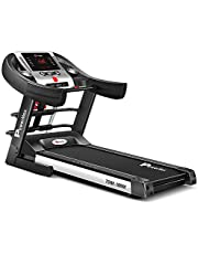 PowerMax Fitness TDM-100M (4.0HP Peak) Foldable, Electric, Multi-Funtion Motorized Treadmill With Free Virtual Assistance, Semi-Automatic Lubrication, LED Display, Heart Rate Sensor And Home Use