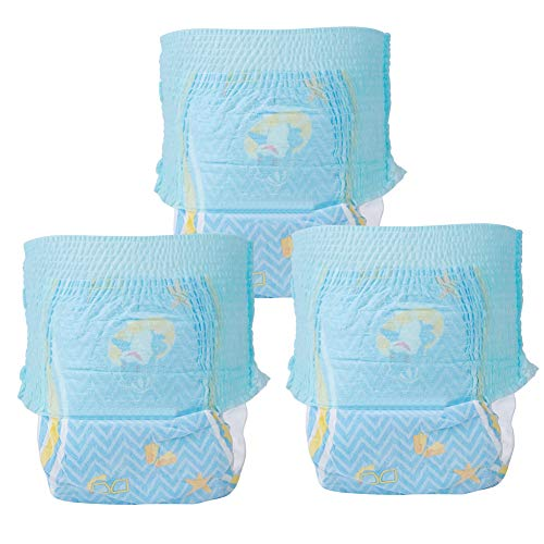 3Pcs Wiederverwendbare Schwimmwindel, atmungsaktive Babyschwimmwindel Verstellbare Babybadebekleidung für Jungen, Jungen und Mädchen Schwimmunterricht/Urlaub M/L/XL/XXL(XXL 15kg above)