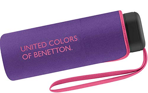 Benetton Taschenschirm Ultra Mini Flat Solid - Ultra Violet