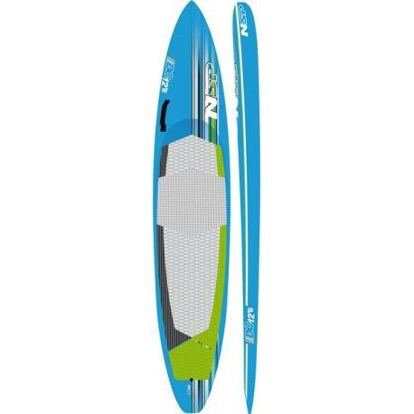 Tabla de Paddle Surf rígida DC Brushed Carbon NSP