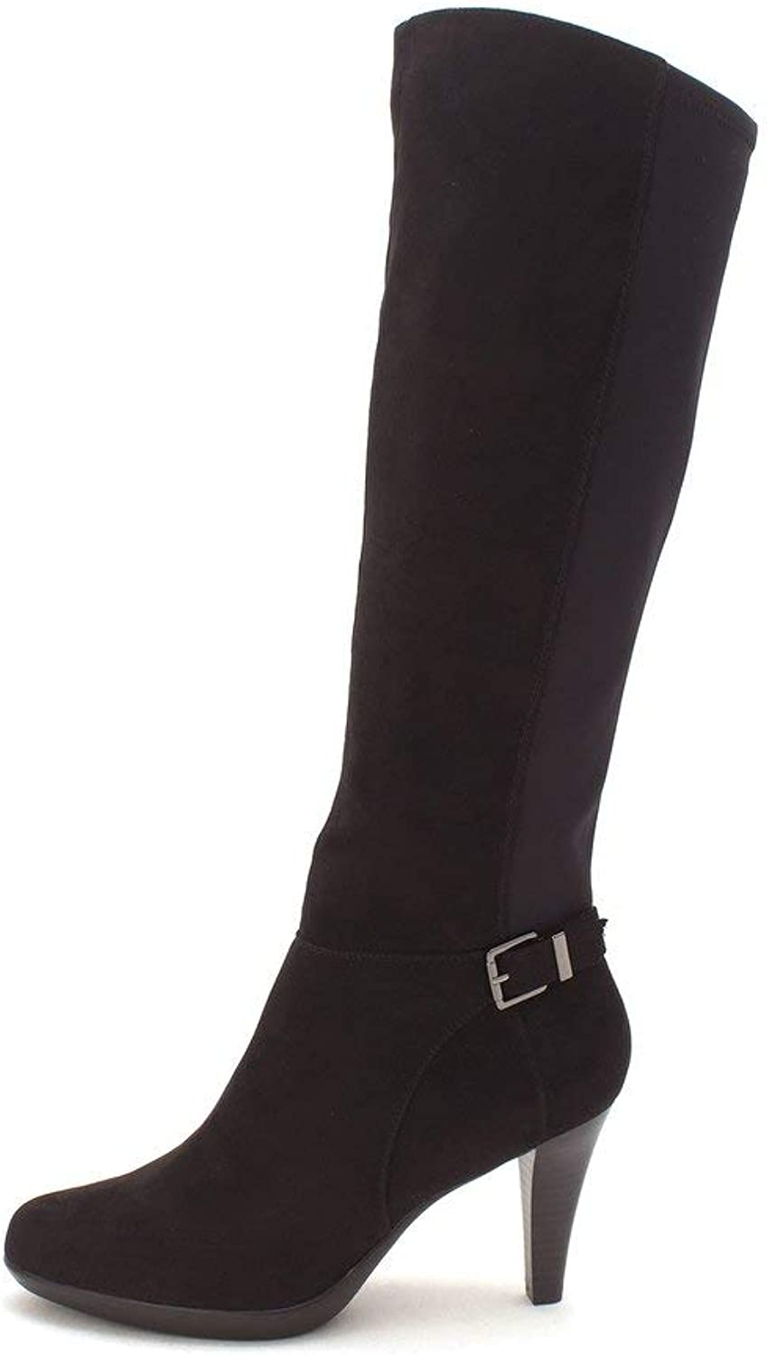 Alfani Womens Vennuss Almond Toe Knee High Fashion Boots