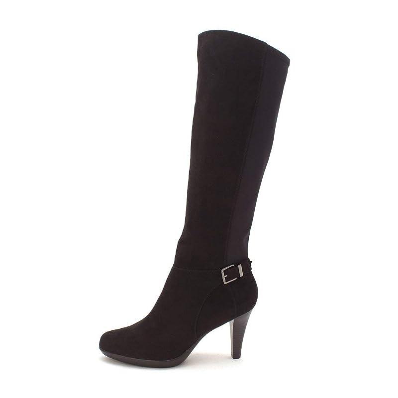 差し引くボタン読みやすい[Alfani] Womens Vennuss Closed Toe Knee High Fashion Boots [並行輸入品]