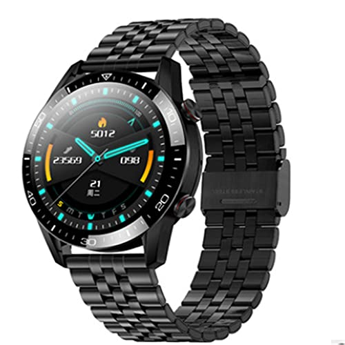 LOVOUO 2021 new sports smart watch 1.3 full circle full touch (IP67 waterproof fitness tracking, with heart rate monitor, sleep monitoring pedometer)