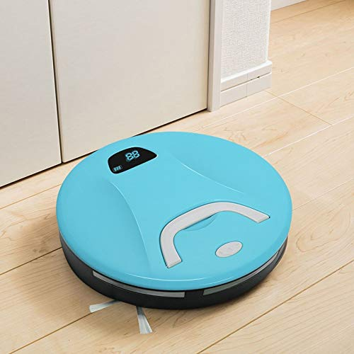 G-RF Aspirateur Robot FD-RSW (B) Intelligente des ménages Balayer Robot Nettoyeur de Machine (Vert) (Color : Blue)