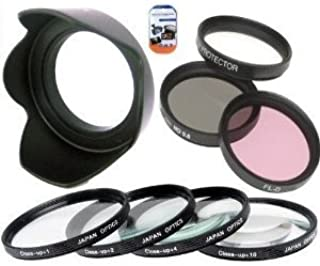 58mm Multi-Coated 3 Piece Filter Kit UV-CPL-FLD for Olympus M.Zuiko 40-150mm f//4.0-5.6 R Micro ED Digital Zoom Lens Microfiber Cleaning Cloth