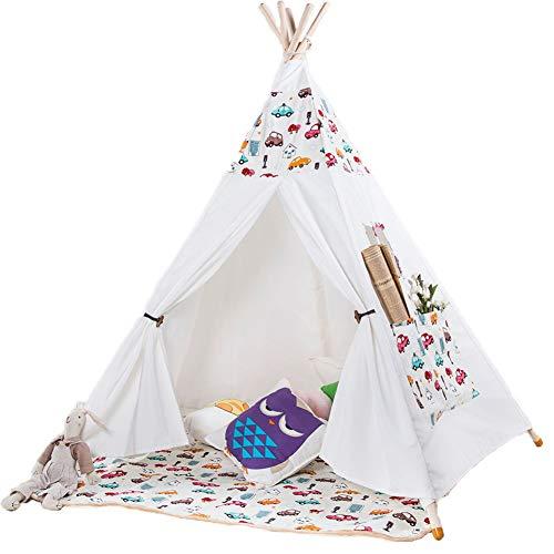 ZYD Tente Jeu La Tente De Jouet Respirable De Grand Espace des Enfants Peut Adapter Aux ModèLes ImpriméS La Tente De Rampement d'enfants ConsacréE à La Nature