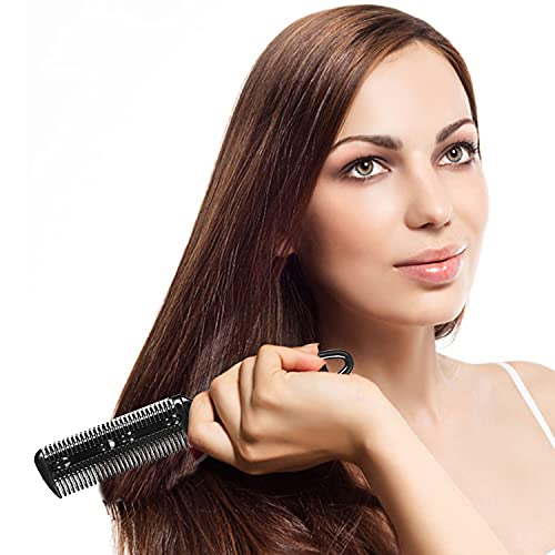 5Pcs Professional Trimmer Razor Dual Side Cutting Scissors Hair Thinning Comb Slim Haircuts Cutting Tool Blade Barber Cut Hair Brush Tools Double Edge Razor 5Color