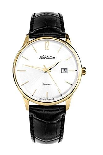 adriatica Armbanduhr für den Mann, der a8254.1253q Herren Quarzuhr, Edelstahl (PVD)