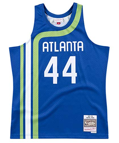 Pete Maravich Atlanta Hawks 1971-72 Men's Swingman Jersey
