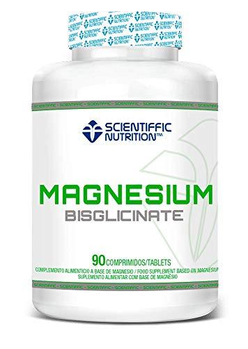 MST SCIENTIFFIC NUTRITION Magnesium Bisglycinate 300mg (22,6% Magnesium) 90 cápsulas MAGNESIO BISGLICINATO