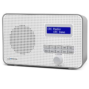 LEMEGA DR1 Portable DAB/DAB+/FM Digital Radio,Dual Alarms...